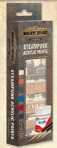 Bassett-Lowke AB9064 Steampunk Paint Pack workshop Matt Acry