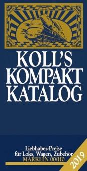 Koll 980 Preiskatalog Kompakt 2019 Märklin 00/H0