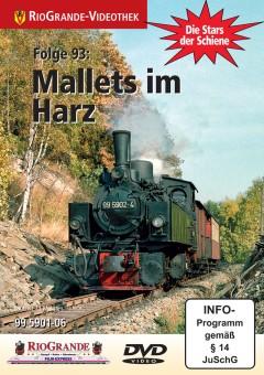 Rio Grande 6393 Stars der Schiene 93 Mallets im Harz