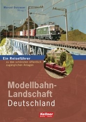 KellnerVerlag 2088 Modellbahn-Landschaft Deutschland