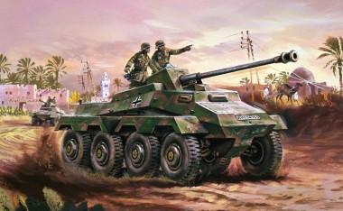 Airfix 01311V Sd.Kfz.234 German Armoured Car