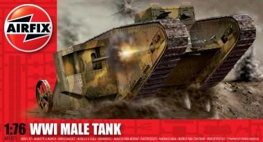 Airfix 01315 WWI Male Tank Mk.1
