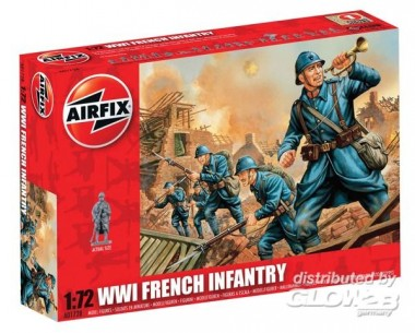 Airfix 01728 French Infantry