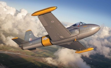 Airfix 02107 Hunting Percival Jet Provost T.4