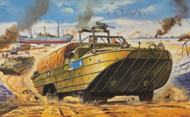 Airfix 02316V DUKW (popularly pronounced 'duck')