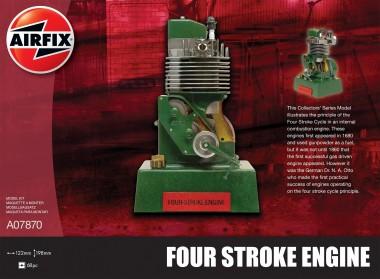Airfix 07870 Four Stroke Petrol Engine Viertaktmotor