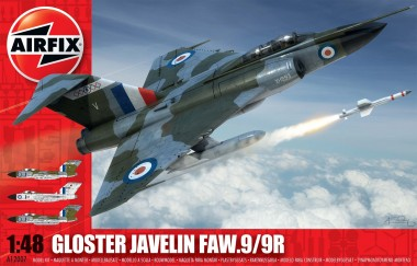 Airfix 12007 Gloster Javelin FAW9/9R