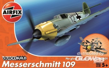 Airfix J6001 Messerschmitt 109 - Quick-Build