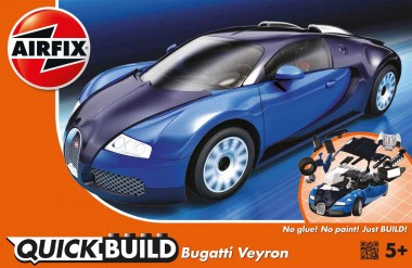 Airfix J6008 Bugatti Veyron - Quick-Build