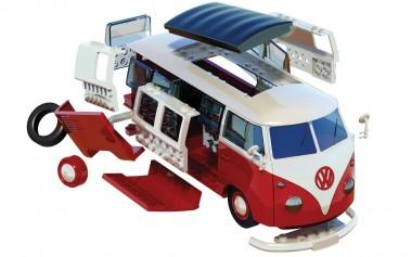 Airfix J6017 VW T1/2b Camper / Quick-Build