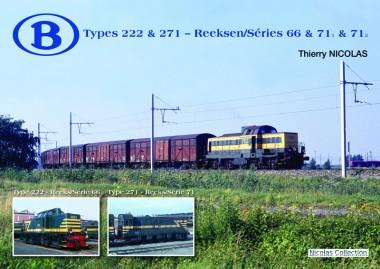 Nicolas Collection 74841 Type 222 & 271 - Reeks/Serie 66/71/71-2