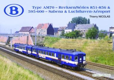 Nicolas Collection 74846 Type AM70 - Reeksen 851-856 & 595-600