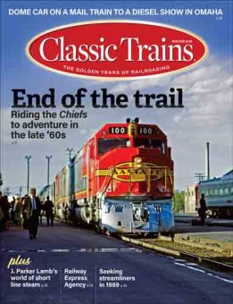 Kalmbach ct419 Classic Trains Winter 2019