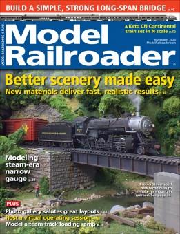 Kalmbach mr1120 Model-Railroader November 2020