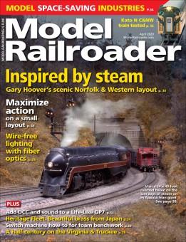 Kalmbach mr420 Model-Railroader April 2020