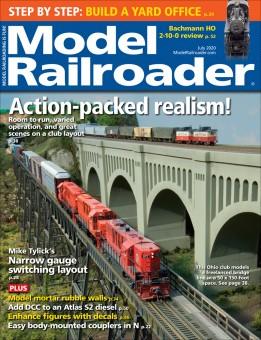Kalmbach mr720 Model-Railroader Juli 2020