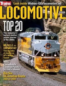 Kalmbach ta2020 Trains Locomotive Annual 2020