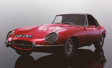 Scalextric 04032 Jaguar E-Type Red 848CRY HD