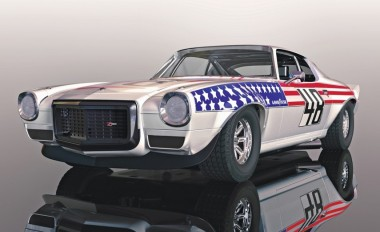 Scalextric 04043 Chev. Camaro Stars n Stripes HD