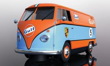 Scalextric 04060 VW Bus Gulf Edition HD