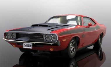 Scalextric 04065 Dodge Challenger T/A Rot/Schwarz HD