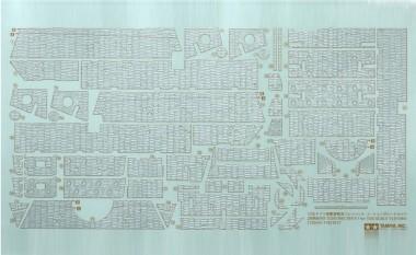 Tamiya 12644 WWII Zimmerit Dekor Satz
