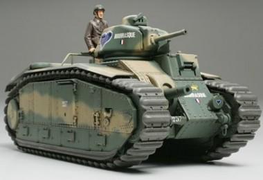 Tamiya 35282 Französischer Kampfpanzer B1