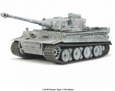 Tamiya 56010 RC Panzer Tiger 1 Full Option