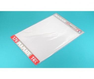 Tamiya 70128 Kunststoff-Platte 1,7mm (1) klar 257x364