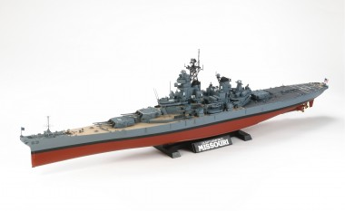 Tamiya 78029 US Schlachtschiff BB-63 'Missouri'