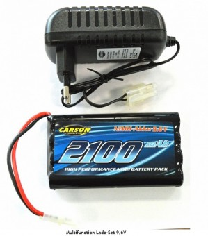 Carson 607014 Multifunction Lade-Set 9,6V