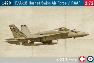 Italeri 01429 F/A-18 Hornet Swiss AirForce - RAAF