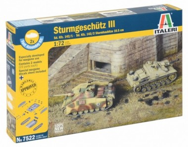 Italeri 07522 Sd.Kfz 142/1 Sturmgeschütz III