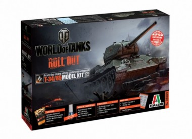 Italeri 36509 T-34 / 85 WoT - World of Tanks