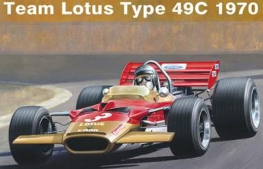 Ebbro 20006 Team Lotus Type 49C 1970