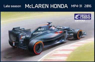 Ebbro 20020 Mclaren Honda MP4-31 Late Season 2016
