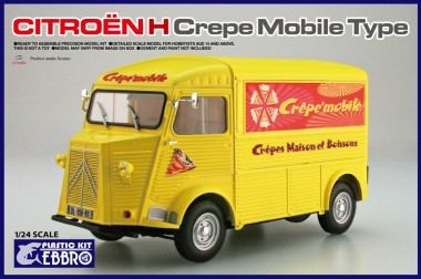 Ebbro 25010 Citroën H Transporter 'Crêpe Mobile' Typ
