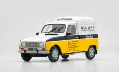 Ebbro 25012 Renault 4 Fourgonnette Service Car