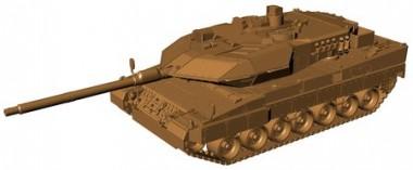 Armour87 211100101 Kampfpanzer Leopard 2A6M BW