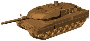 Armour87 211100111 Kampfpanzer Leopard 2A5 BW
