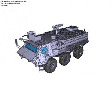 Armour87 211200511 FUCHS A8A3 Panzeraufklärer mit MILAN