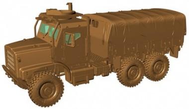 Armour87 224200111 MTVR Mk.23 Pritsche/Pl. gepanzert USMC