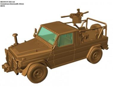 Armour87 224200321 M1511 IFAV mit MK19