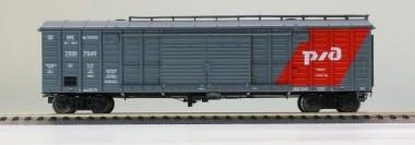 R-Land 10125 RZD gedeckter Güterwagen Ep.5/6
