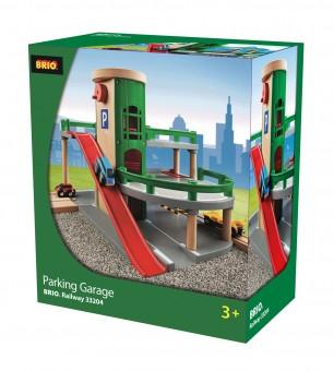 Brio 33204 Parkhaus Straßen und Schienen