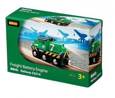 Brio 33214 Batterie Frachtlok
