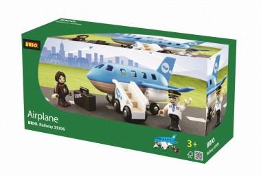 Brio 33306 Flugzeug blau