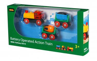 Brio 33319 Zug mit Batterielok