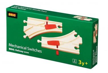 Brio 33344 Mechanisches Weichenpaar