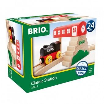 Brio 33615 Reiterstellwerk mit Dampflok